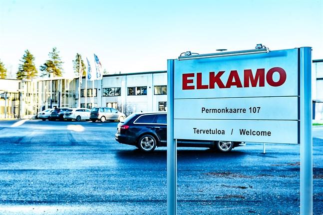 En del av personalen uteblev från jobbet i protest under fredagen vid Alfen Elkamo.