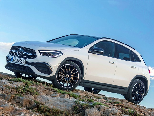 Mercedes-Benz GLA 2020.