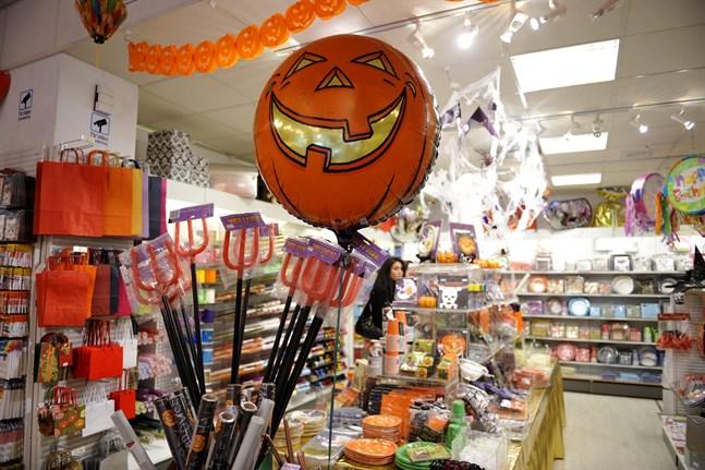 Försäljningen av halloweenpynt har ökat explosionsartat i år. Arkivbild.
