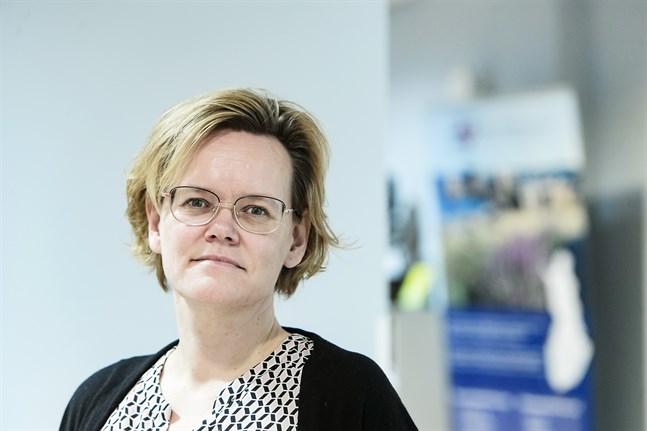 Chefsläkare Pia-Maria Sjöström säger att coronaläget i Jakobstadsregionen är stabilt.