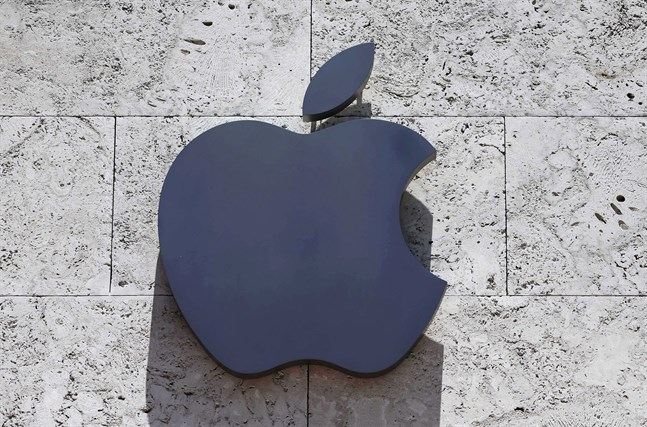 Apple har dömts att betala nära 430 miljoner euro i böter. Arkivbild.