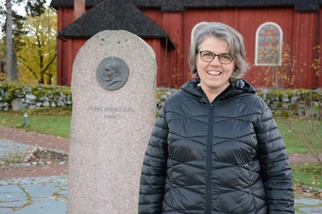 Margita Engelholm är rörd över att få ett pris som bär Frans Henriksons namn.