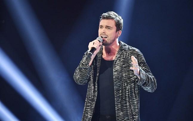 """Niklas Hultberg fick lämna """"Idol"""". Arkivbild."""