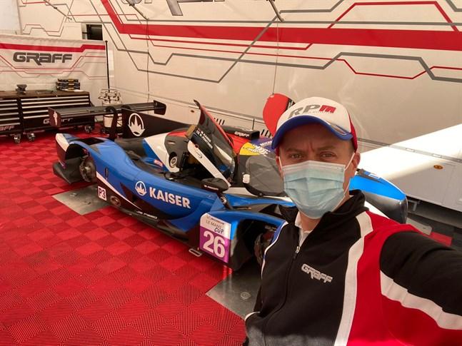 Rory Penttinen firar födelsedag i racerbilen denna helg, då han kör final i Michelin LeMans serien.