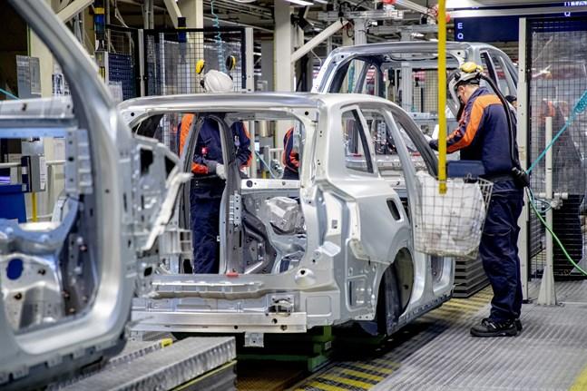 Det går bra för Volvo Cars i Amerika. Arkivbilden är från fabriken i Torslanda.