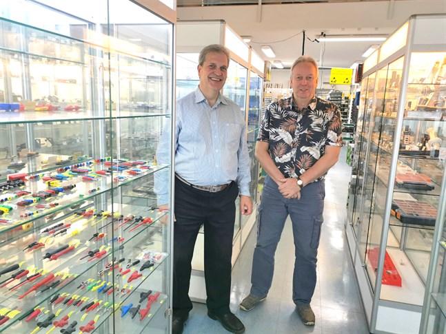 Sampo Aallos och Asko Jokinen är nöjda med affären.