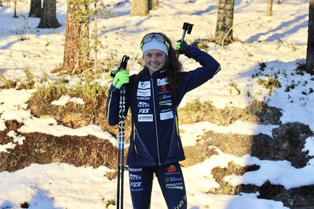 Heidi Kuuttinen har vunnit allt under försäsongen. Nu ska den farten tas med då skidskyttesäsongen kör igång på allvar.