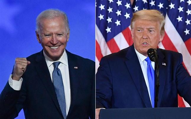 Joe Biden är kritisk till Donald Trump.