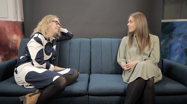 Johanna Stenback och Amanda Audas-Kass.