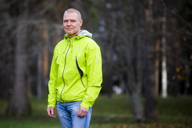 Peter Nieminen, chefsöverläkare på Vasa centralsjukhus, anser att coronaläget är oroväckande.