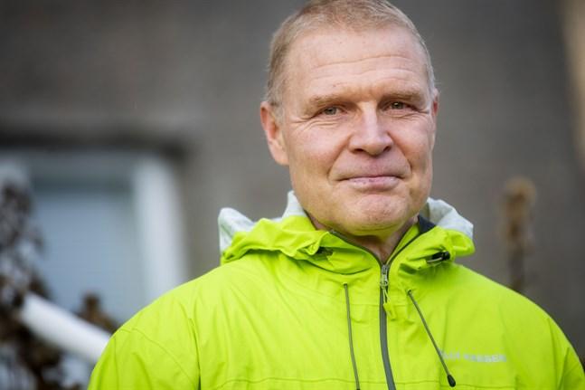Peter Nieminen, chefsöverläkare i Vasa sjukvårdsdistrikt.