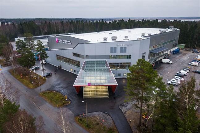Vasa ishall kan bli spelplats för världsmästerskapen i ishockey.