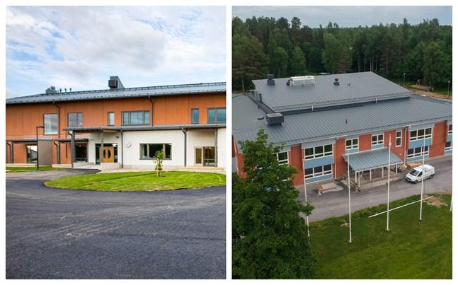Både Koskeby skola och Centrumskolan i Oravais blev dyrare än tänkt.