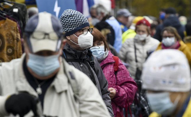 Finlands återhämtning kommer av sig till följd av ökad smittspridning.