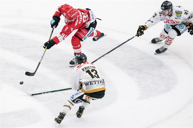 Janne Keränen har stått för 1+1=2 poäng på fem matcher i Sporttröjan denna säsong.