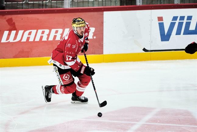 Sebastian Stålberg har stått för 8+7=15 poäng på 26 grundseriematcher i ligan.