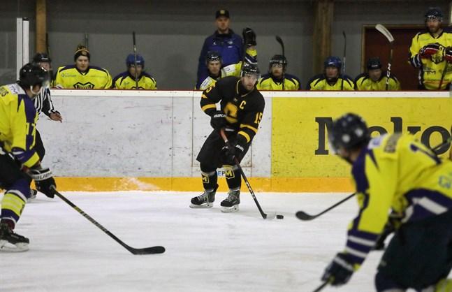 Matti Toskala gjorde Centers enda mål.