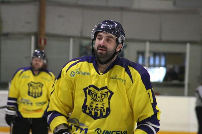 Backen Edgars Apelis bidrog i hög grad till Krafts seger i Jakobstad.
