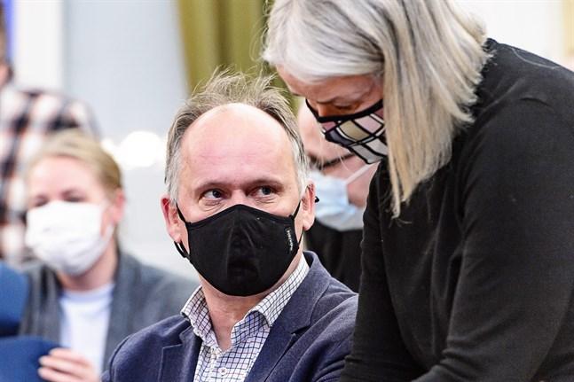 Owe Sjölund har lett förhandlingarna om förtroendeuppdragens fördelning.
