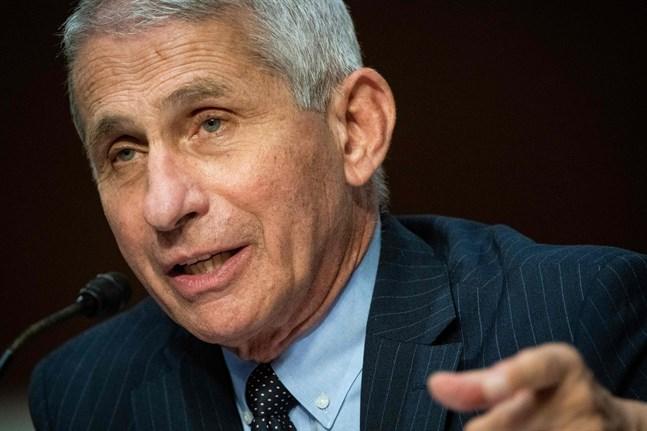 Anthony Fauci är chef vid Nationella institutet för allergier och infektionssjukdomar (Niaid) i USA