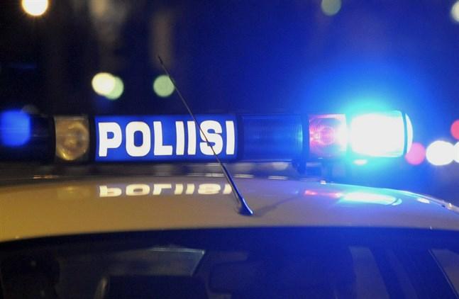 Polisen söker en försvunnen man i Vasa.