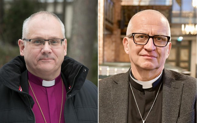 Bo-Göran Åstrand och Harry Backström.