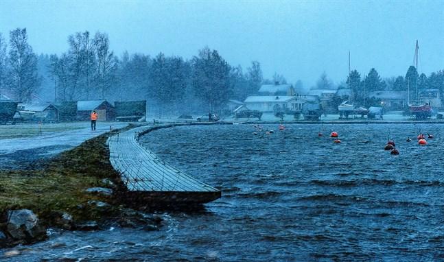 Innan vintern kommer emot ska båtarna vid Gamla hamn tas upp, åtminstone vid de uthyrda båtplatserna.