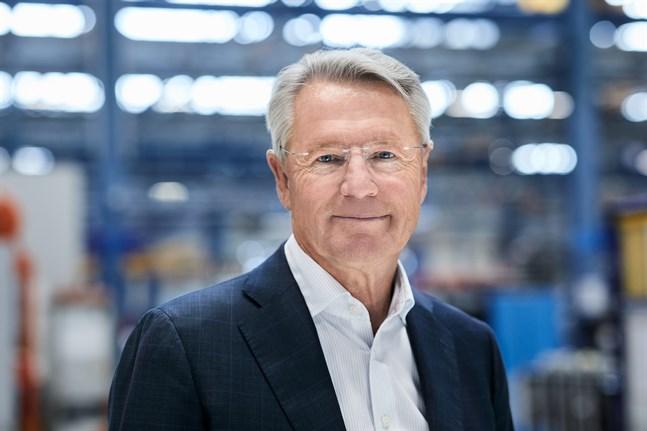 Björn Rosengren började som koncernen vd i mars.