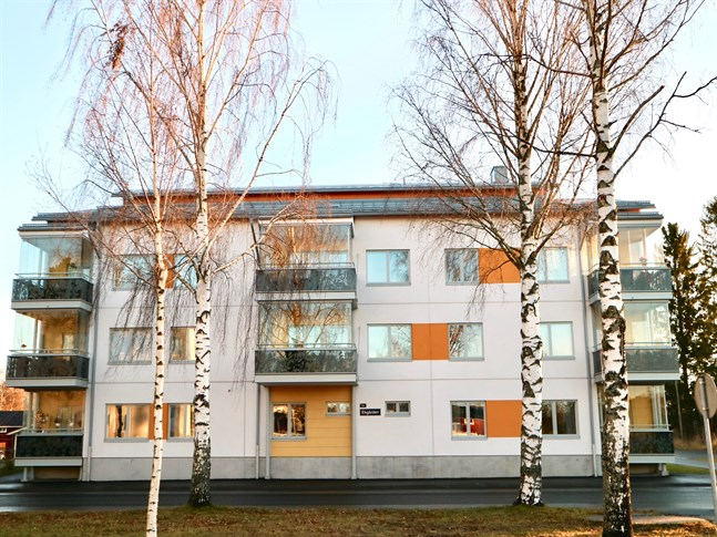 Ekgården i Nykarleby är ett hyreshus för personer som är 55 år eller äldre.