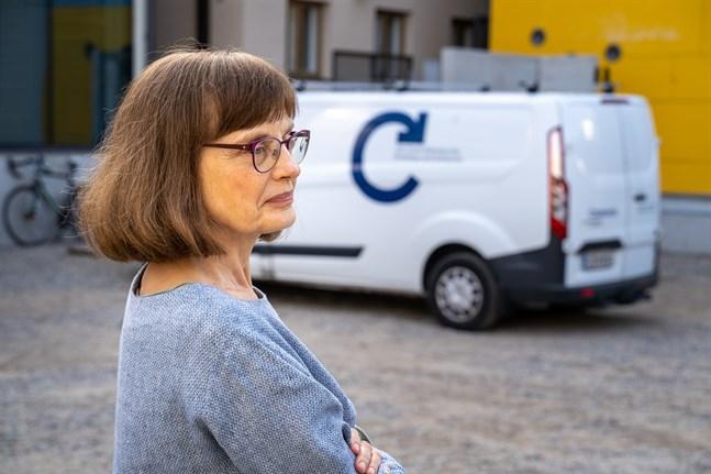 Marit Berndtson har jobbat som administrativ chef på Wasa Teater i många år.