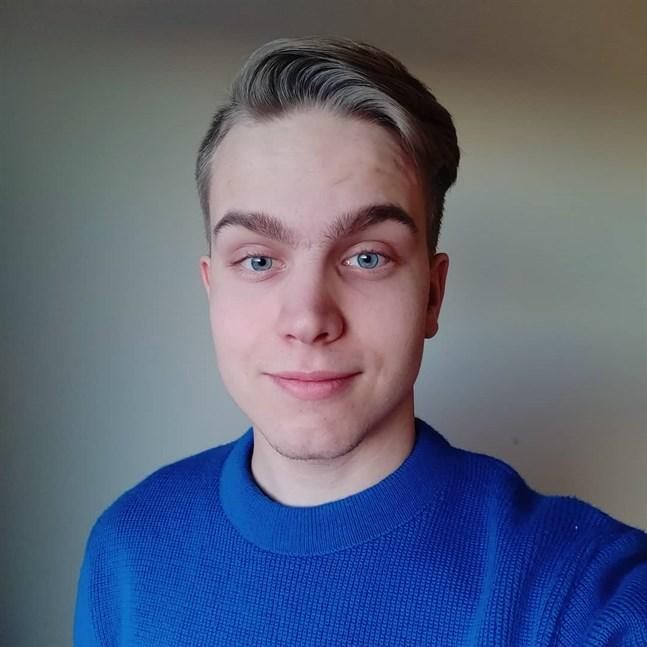 Jonatan Wikström, FSUD:s nya ordförande, studerar till klasslärare vid Åbo Akademi i Vasa.