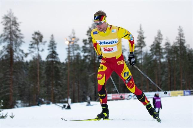 Pohti SkiTeam knep två pallplatser genom Joni Mäki och Joel Ikonen som blev tredje.