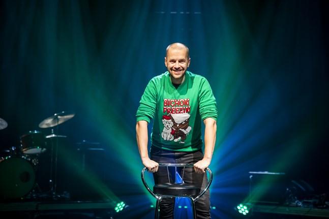 Markus Lytts har skapat en jultradition på Wasa teater, men han blev tvungen att ta en paus från teatern. Nu ska han åter sprida julstämning.