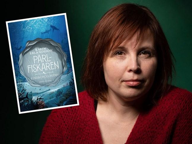 """Karin Erlandssons bok """"Pärlfiskaren"""" kom ut 2018."""