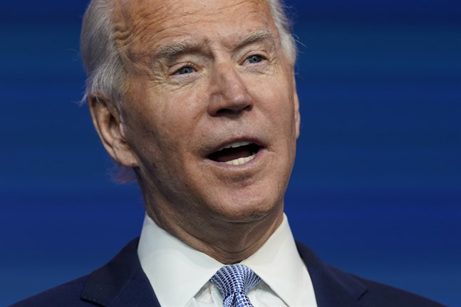 USA:s tillträdande president Joe Biden presenterade utrikes- och säkerhetspolitiska medarbetare.
