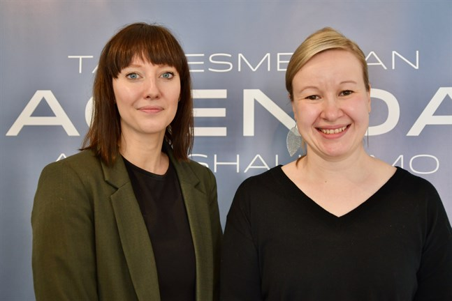Hälsovetarna Johanna Nordmyr och Anna K. Forsman säger att vi behöver mer hälsofrämjande insatser i arbetslivet för att vi ska orka och vilja jobba längre än vad vi gör nu. Arkivbild.