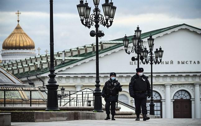 Enligt Ryssland har det funnits risk för terrorattacker i Moskvaregionen.