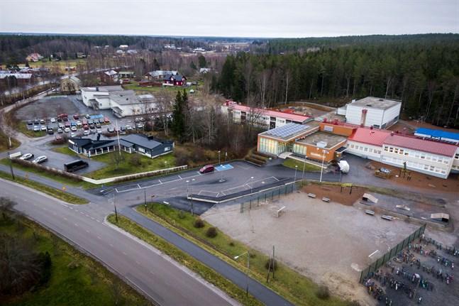 En utbyggnad av Sundom skola planeras.