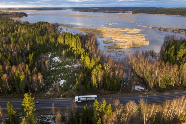 Den delen av Vassorfjärden som är närmast olycksplatsen klassas och skyddas som Natura 2000-område.