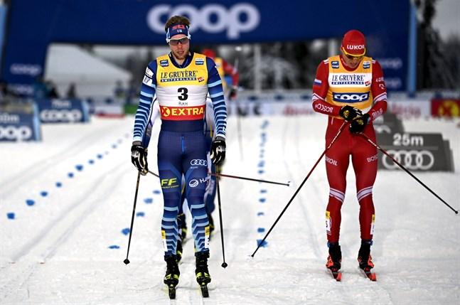 Joni Mäki har haft en stark säsongsinledning och vunnit alla nationella tävlingar han ställt upp i. Han såg framemot att mäta krafterna mot internationellt motstånd. Han visade lovande takter – men finalplatsen uteblev i Ruka.