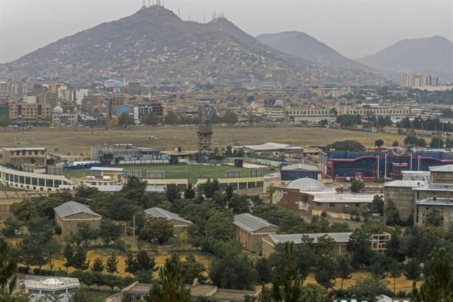 Afghanistans huvudstad Kabul.