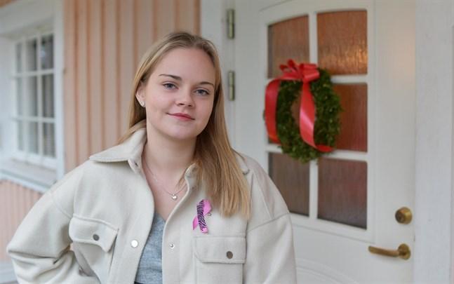 Lizette Lindqvist är Närpesbygdens lucia 2020. Hon är inte den första i familjen som bär den titeln.