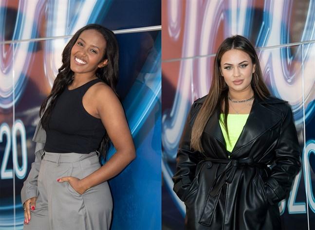 """Nadja Holm och Paulina Pancenkov är finalister i TV4:s """"Idol"""". Arkivbild."""