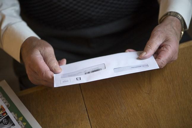 Det förfalskade brevet påstås komma från Folkhälsomyndigheten. Arkivbild.