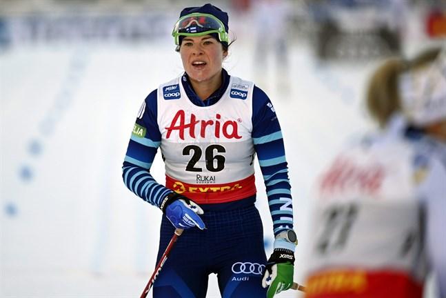 Krista Pärmäkoski har inte fått till det i minitouren i Ruka hittills.
