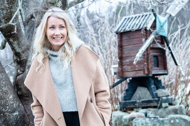 Victoria Snellman har drivit sitt företag Lykkeliten i fyra år.