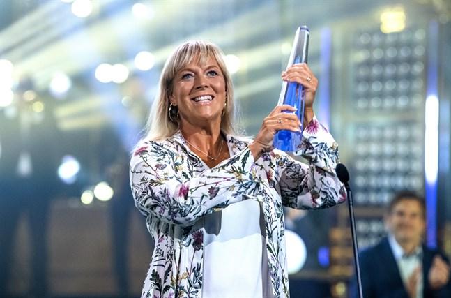 Sofia Åhman fick juryns specialpris vid Kristallengalan 2020.