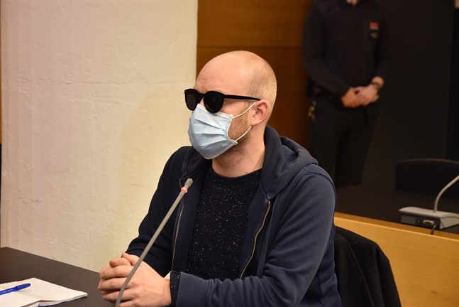 Helsingfors tingsrätt behandlade fallet med 30-åringens hotelser den 18 november. Arkivbild.
