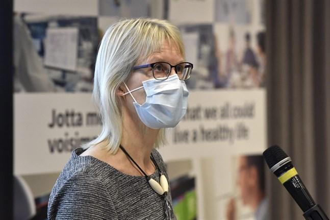 Marjo-Riitta Helle, chef för utvärderingsprocessen av läkemedel på Säkerhets- och utvecklingscentret för läkemedelsområdet Fimea.
