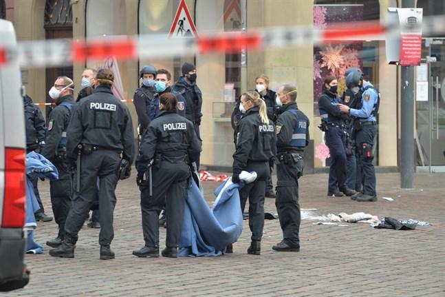 Polis i Trier där händelsen ägde rum.